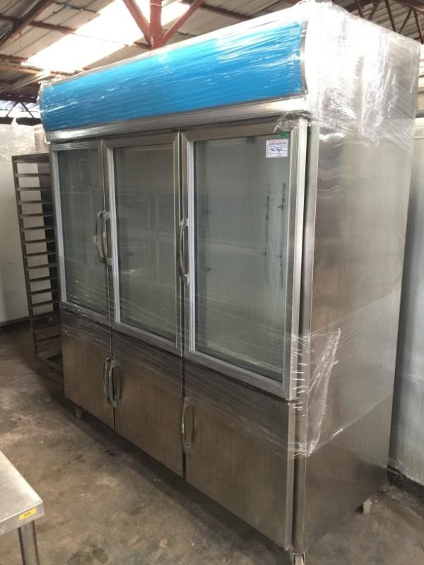 6 door chiller freezer magnet door